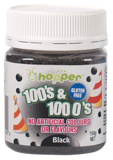 Hopper 100s black web