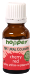Hopper Natural Food colour cherry red. Ice biscuits, decorate a cake, add to milk and more.