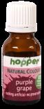 hopper natural colour purple grape -gluten, dairy, nut free. Vegan